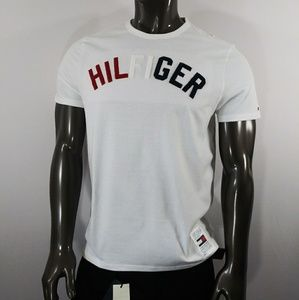 Tommy Hilfiger White Tee with Raggy 3D Logo